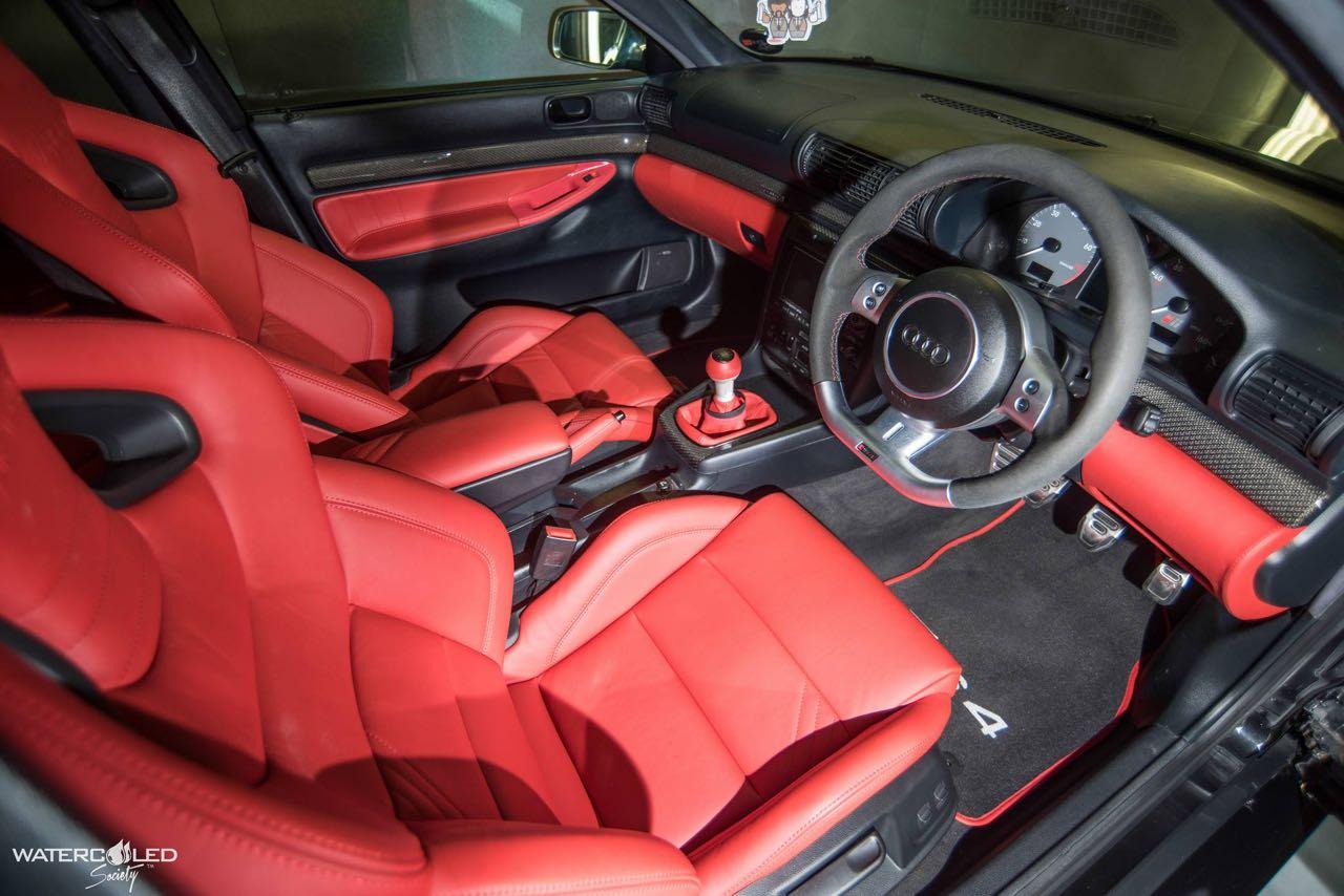 Audi S4... Swappée en RS4 - Logique ! 9