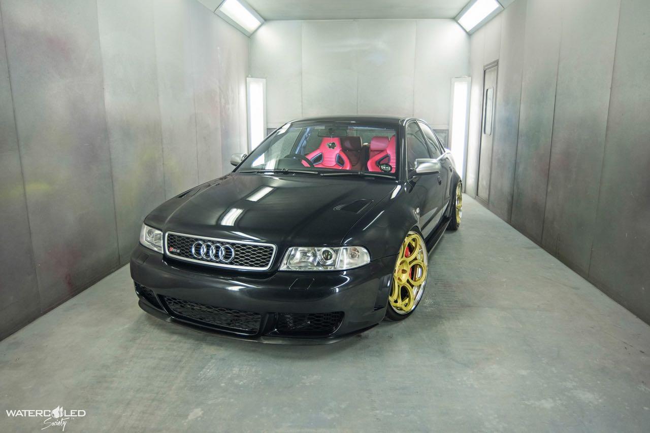 Audi S4... Swappée en RS4 - Logique ! 13