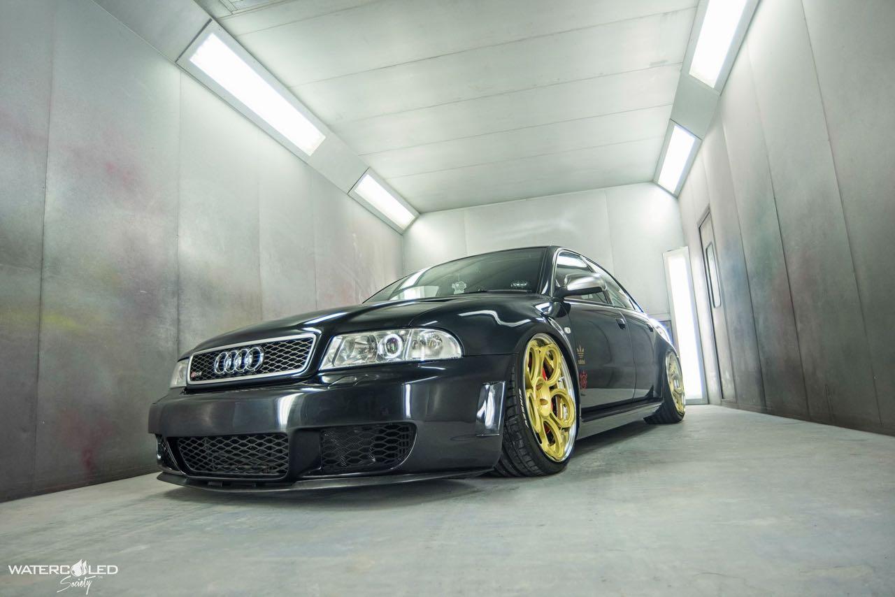 Audi S4... Swappée en RS4 - Logique ! 4