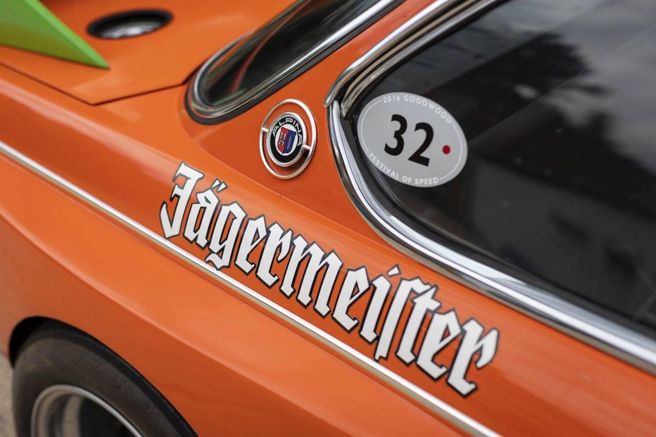 BMW 3.0 CSL Alpina / Jägermeister : Boire ou conduire, Lauda a choisi ! 13