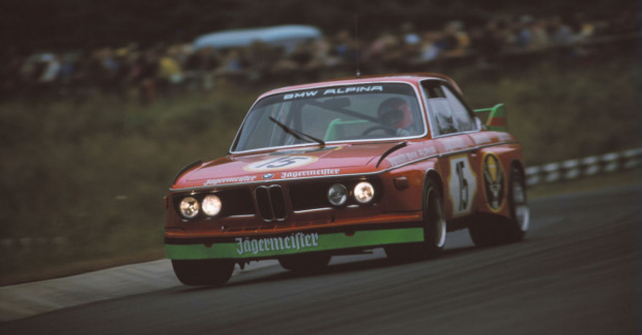 BMW 3.0 CSL Alpina / Jägermeister : Boire ou conduire, Lauda a choisi ! 4