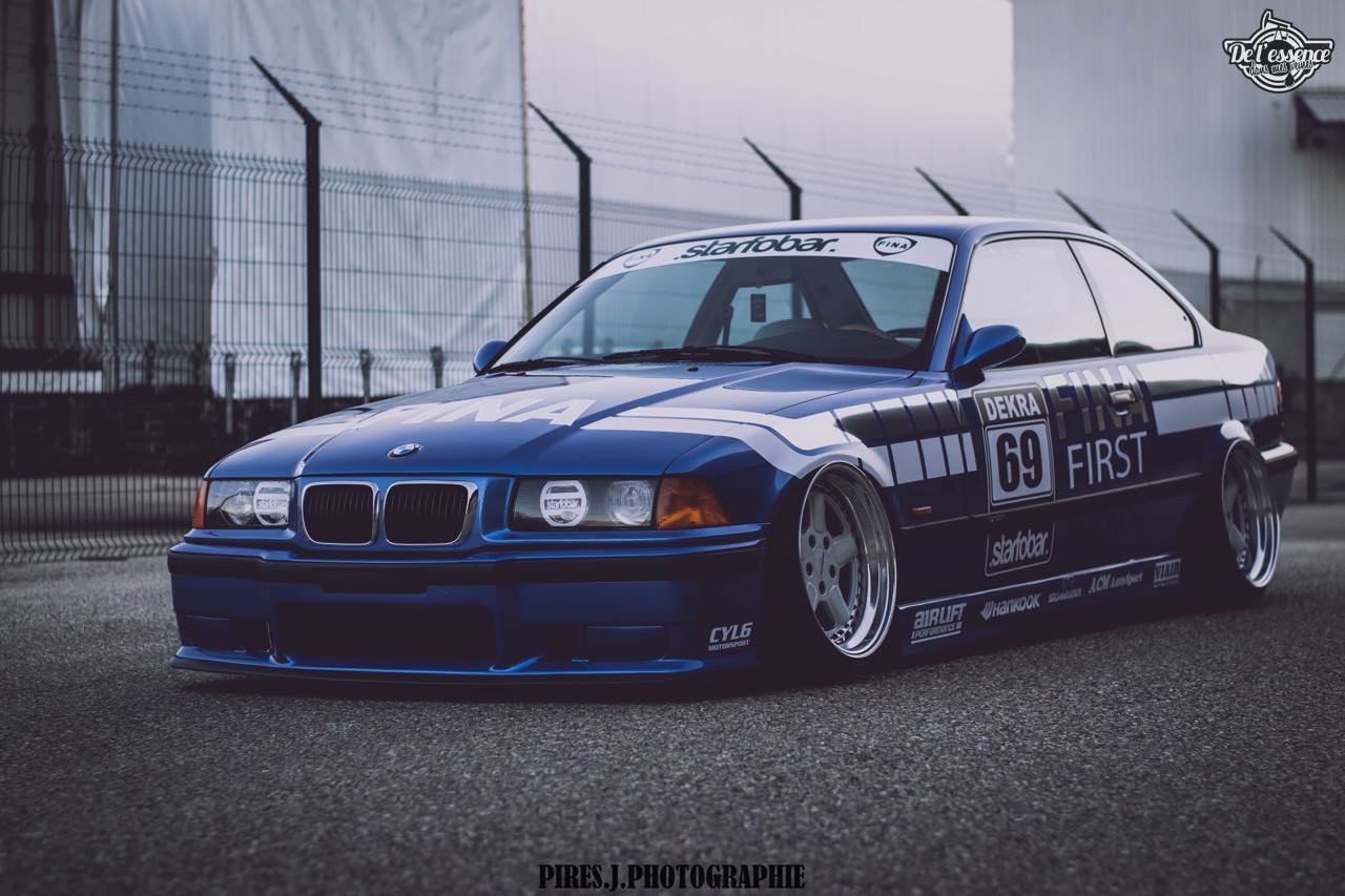 Airride BMW E36 328i    Fabien passe la 2 ! De l'essence