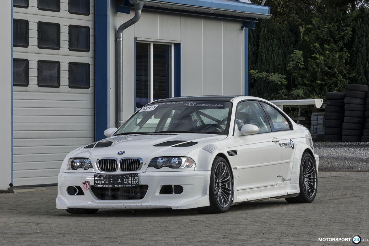 BMW M3 GTR... Un V8 pour la E46 ! 1
