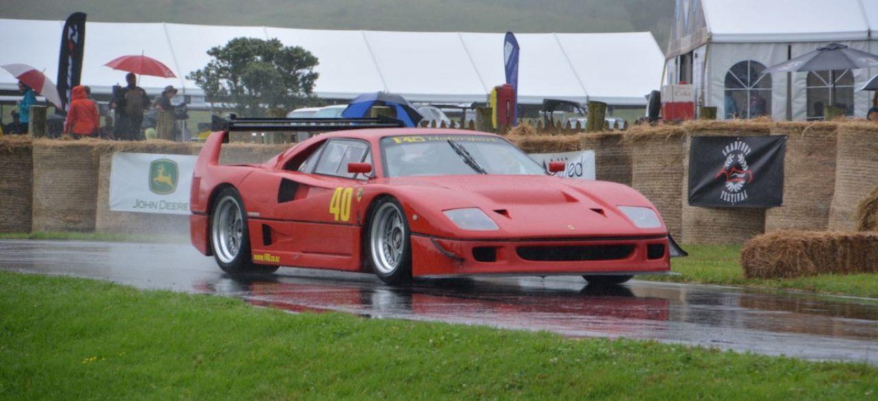 Hillclimb Monster : Ferrari F40 LM... en V8 Lexus Biturbo... WTF ?! 1
