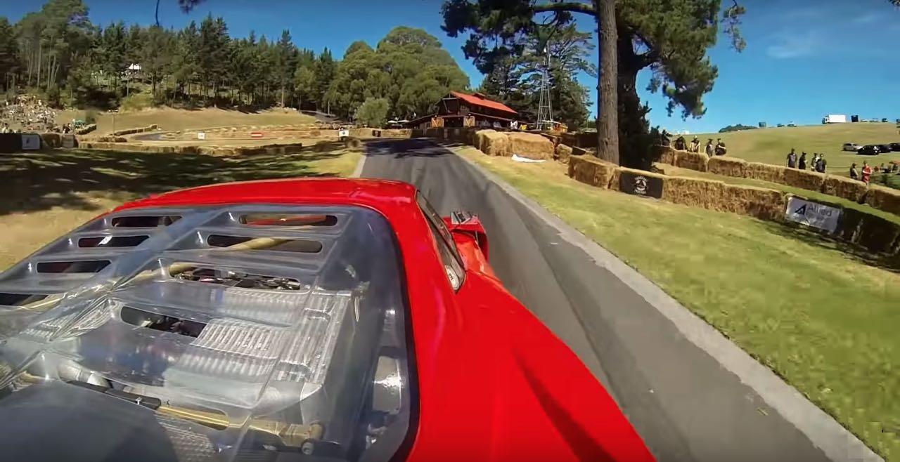 Hillclimb Monster : Ferrari F40 LM... en V8 Lexus Biturbo... WTF ?! 2