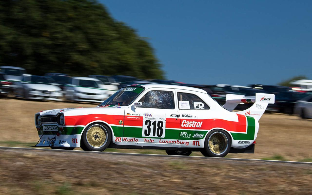 Hillclimb Monster : Ford Escort Mk1 Zakspeed & Cosworth ! Best of ?! 9