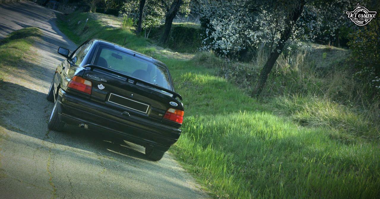 '92 Ford Escort XR3i 16v... Le cul qui glisse ! 9