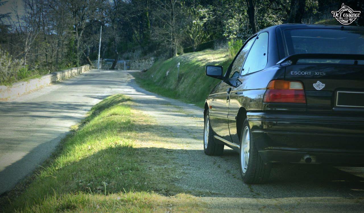 '92 Ford Escort XR3i 16v... Le cul qui glisse ! 17