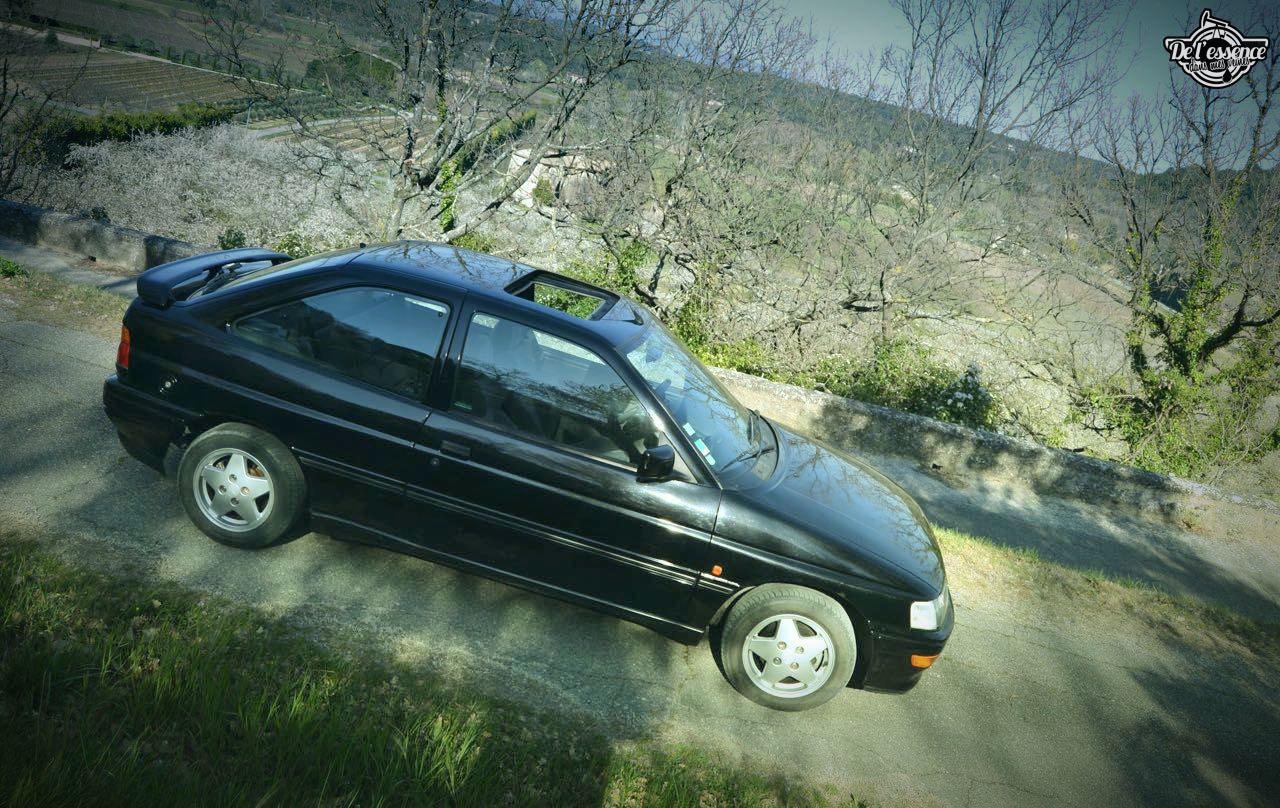 '92 Ford Escort XR3i 16v... Le cul qui glisse ! 10