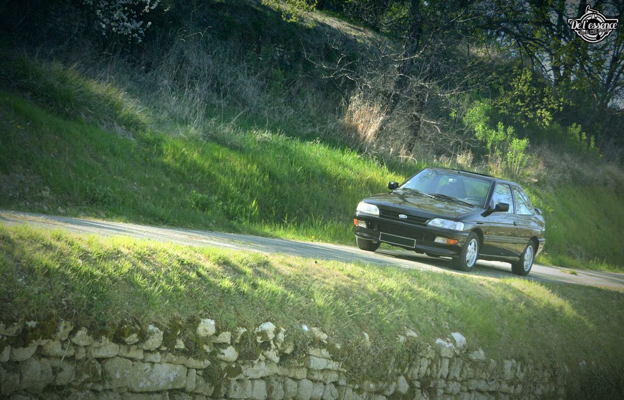 '92 Ford Escort XR3i 16v... Le cul qui glisse ! 6