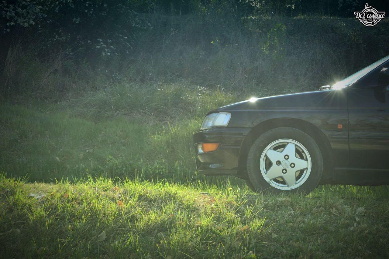 '92 Ford Escort XR3i 16v... Le cul qui glisse ! 11