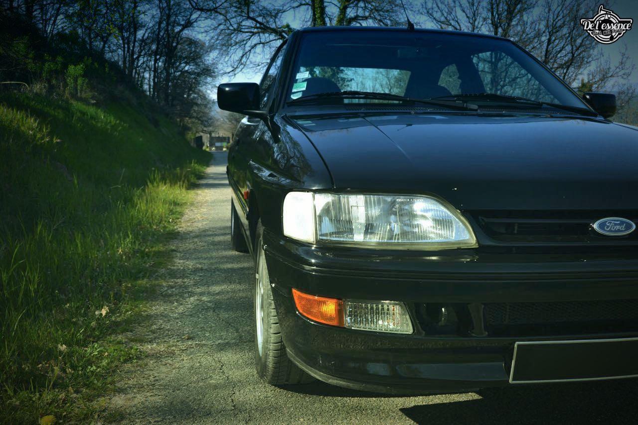'92 Ford Escort XR3i 16v... Le cul qui glisse ! 14