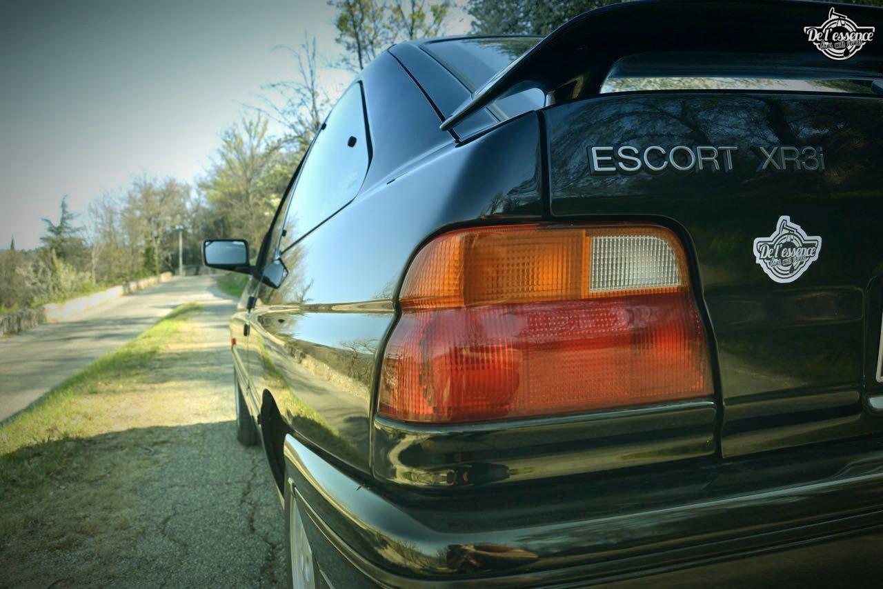 '92 Ford Escort XR3i 16v... Le cul qui glisse ! 13