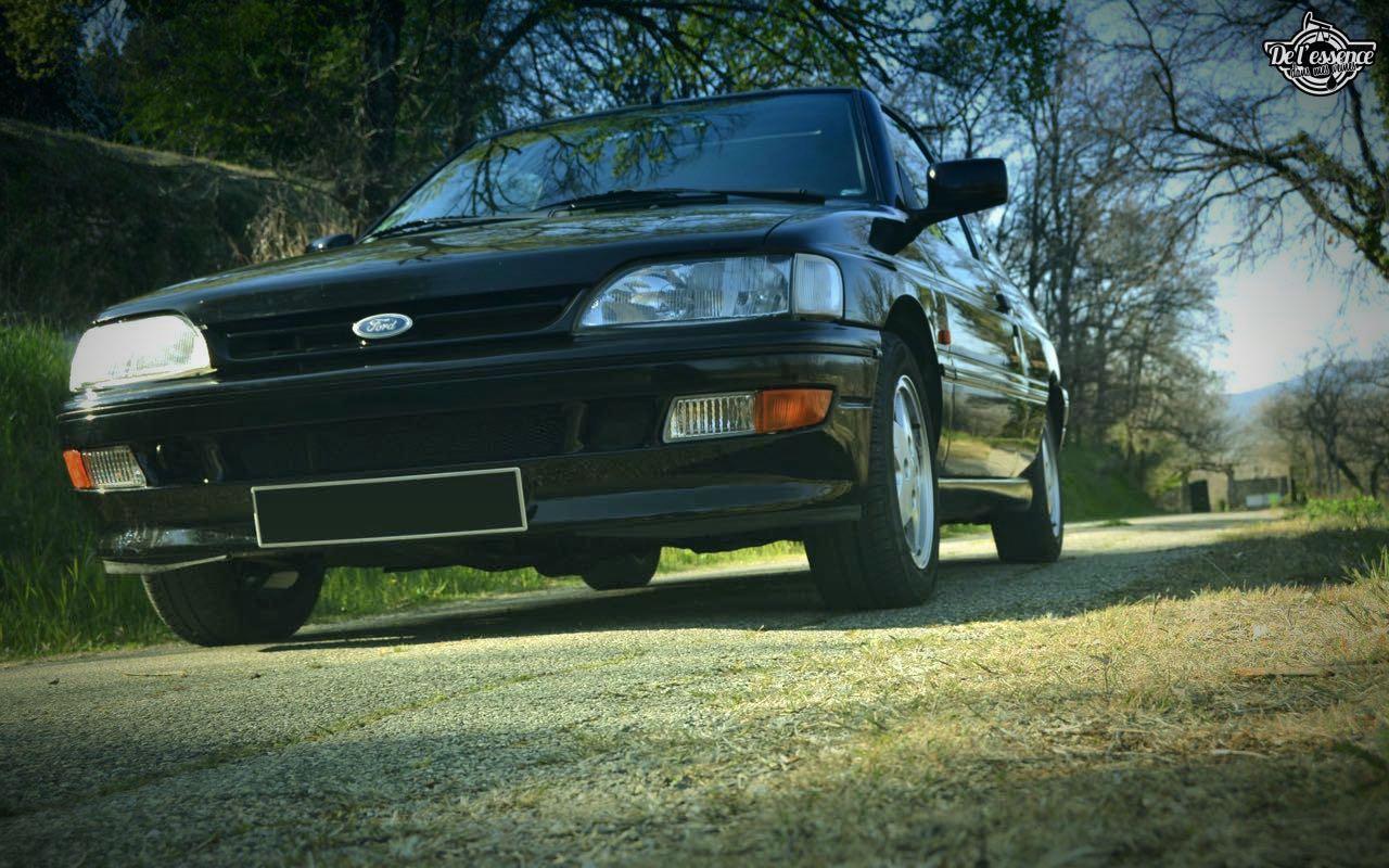 '92 Ford Escort XR3i 16v... Le cul qui glisse ! 2
