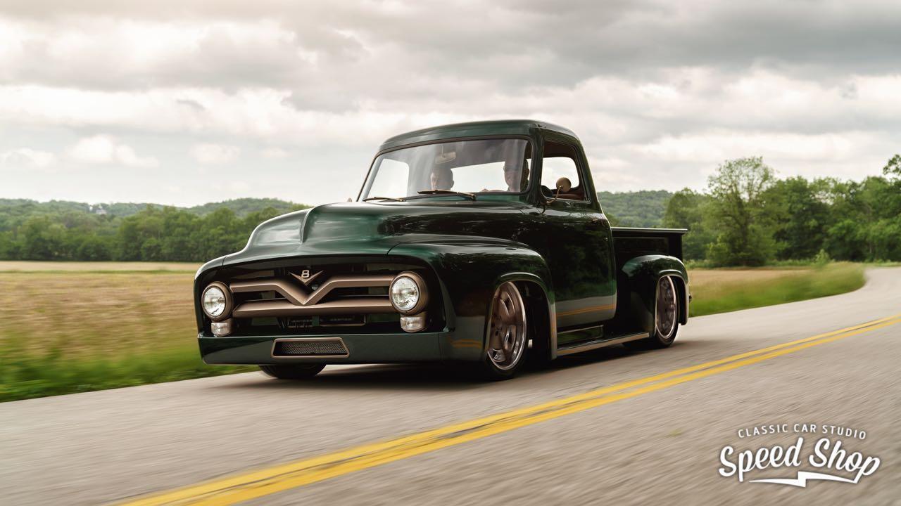 '53 Ford F100 Custom - Le fermier des villes ! 12