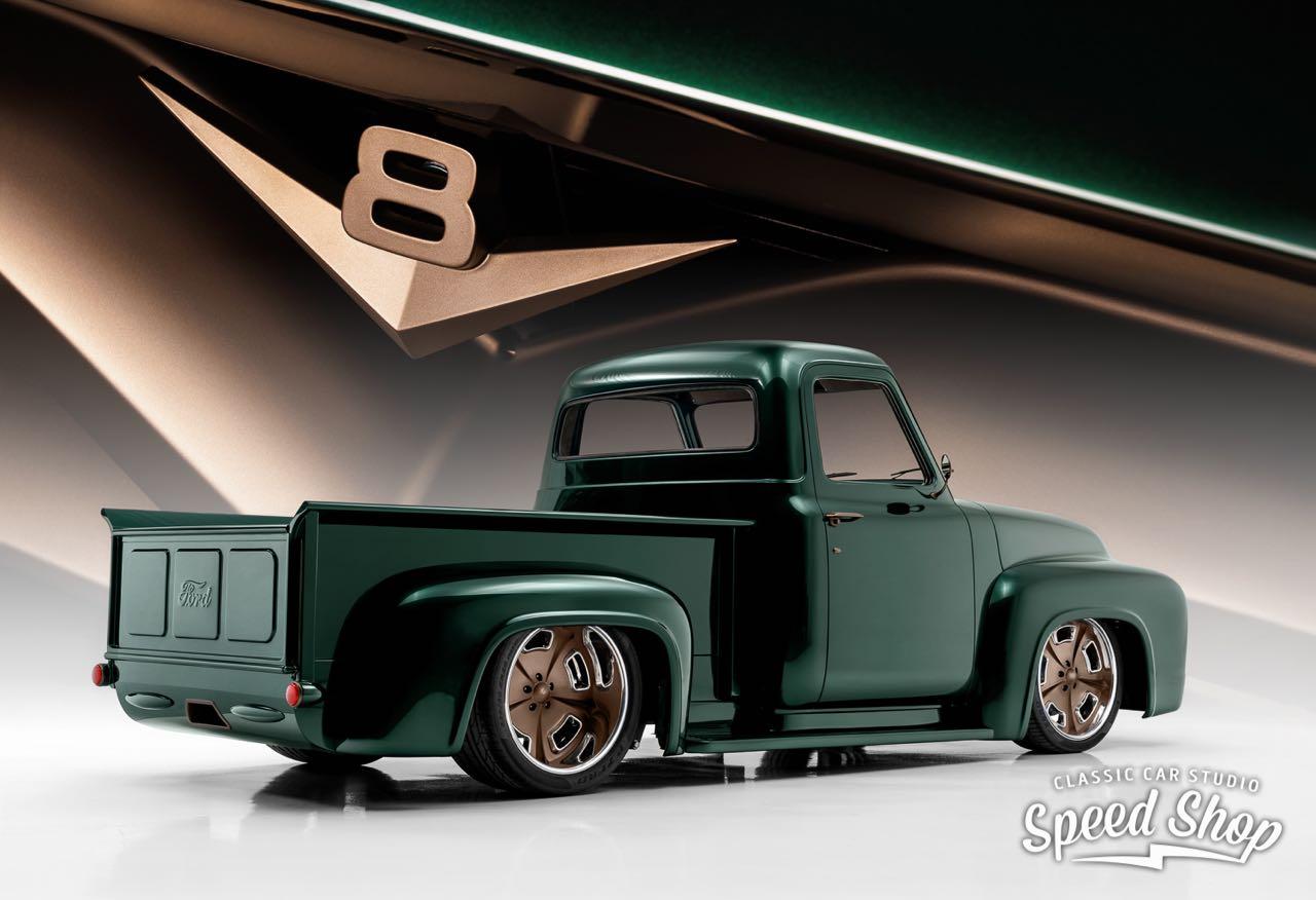 '53 Ford F100 Custom - Le fermier des villes ! 2