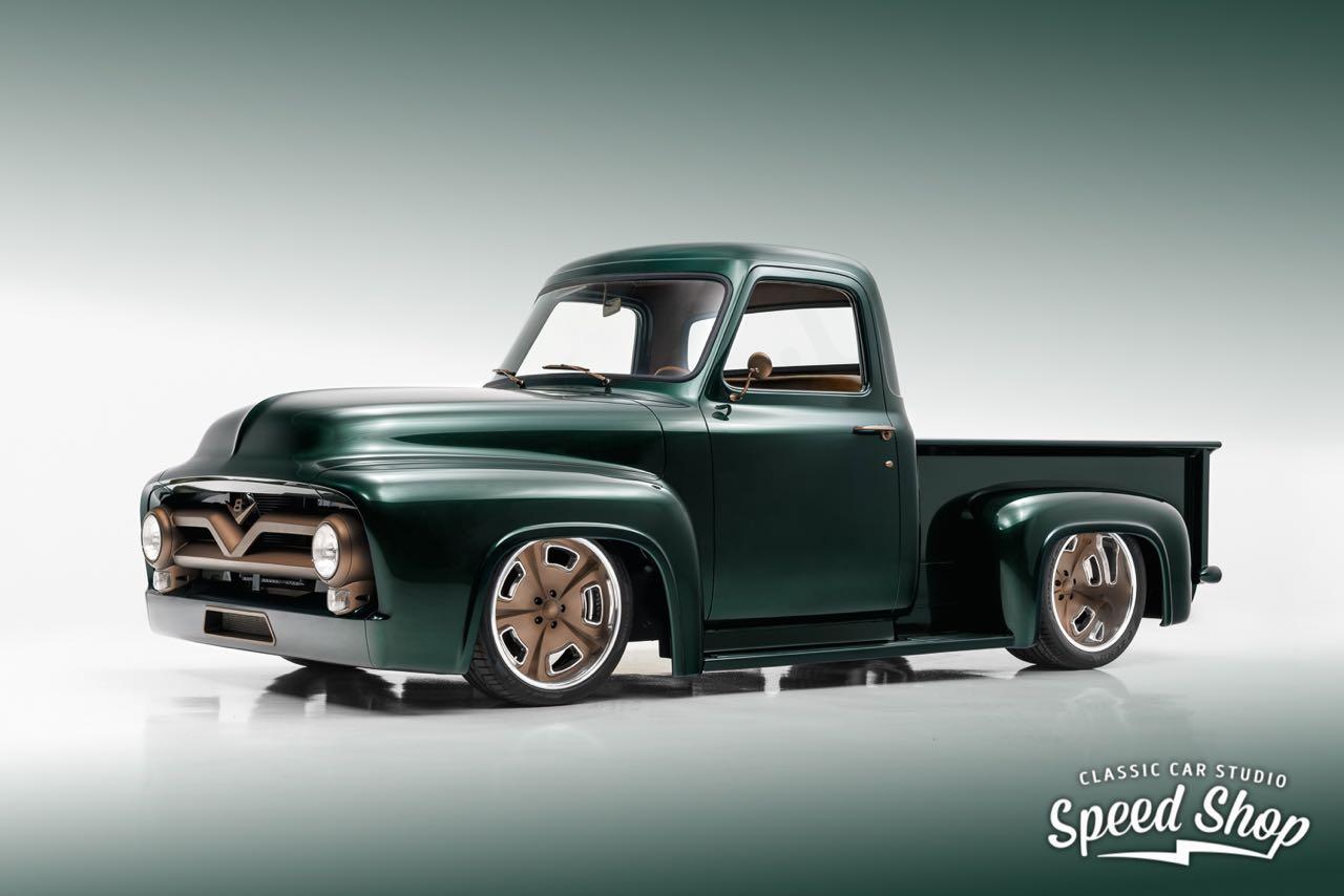 '53 Ford F100 Custom - Le fermier des villes ! 27
