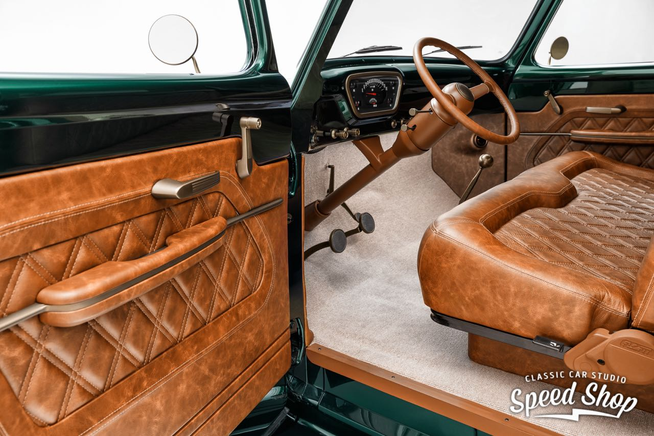 '53 Ford F100 Custom - Le fermier des villes ! 33
