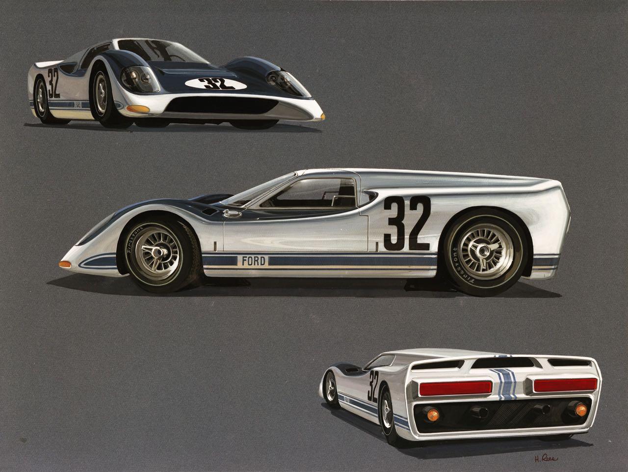 Ford GT40 J-Car : Appelez la MkIV... 1
