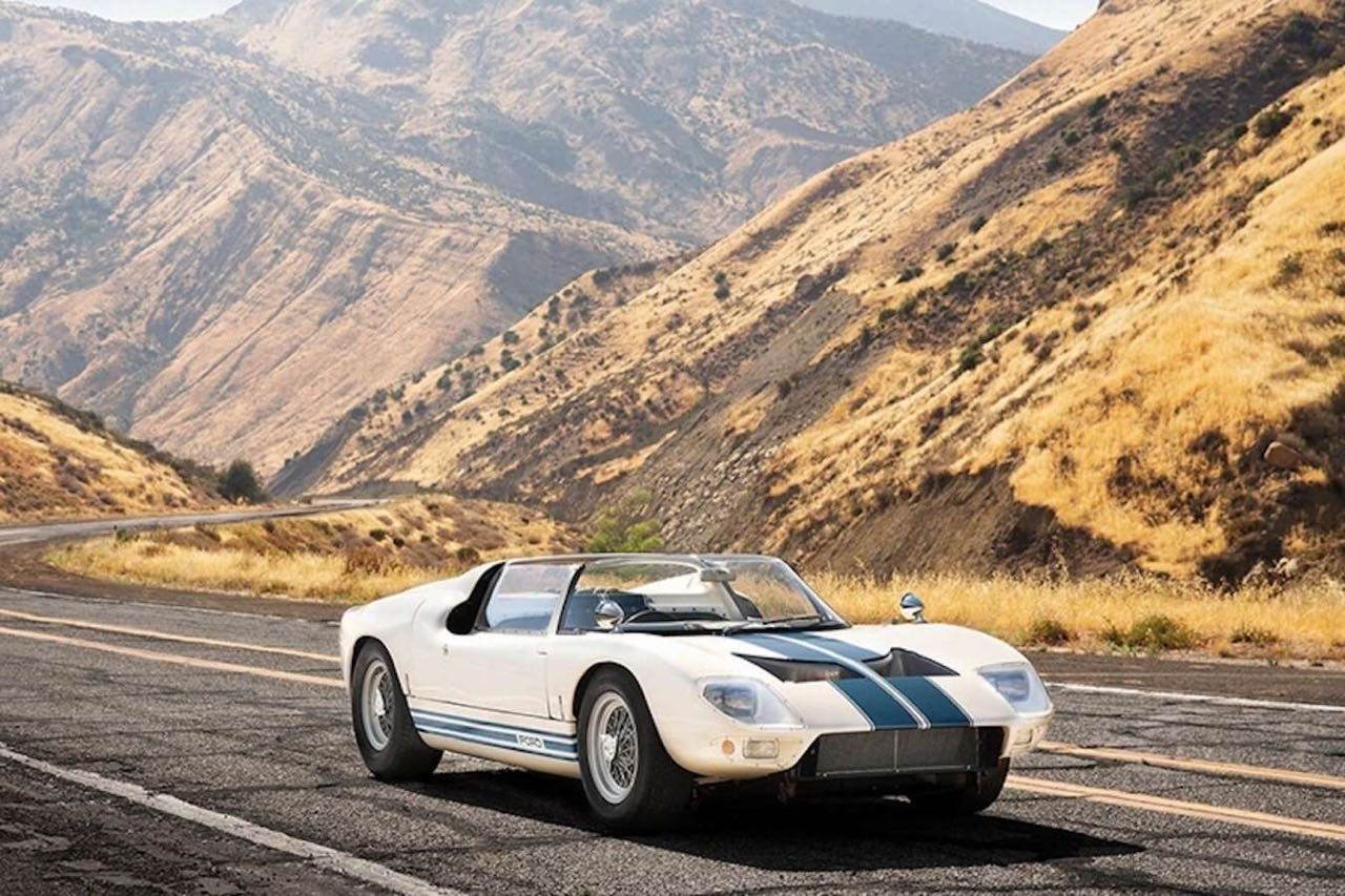 Ford GT40 Roadster... Cheveux au vent ! 2