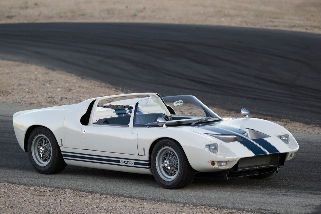 Ford GT40 Roadster... Cheveux au vent ! 7
