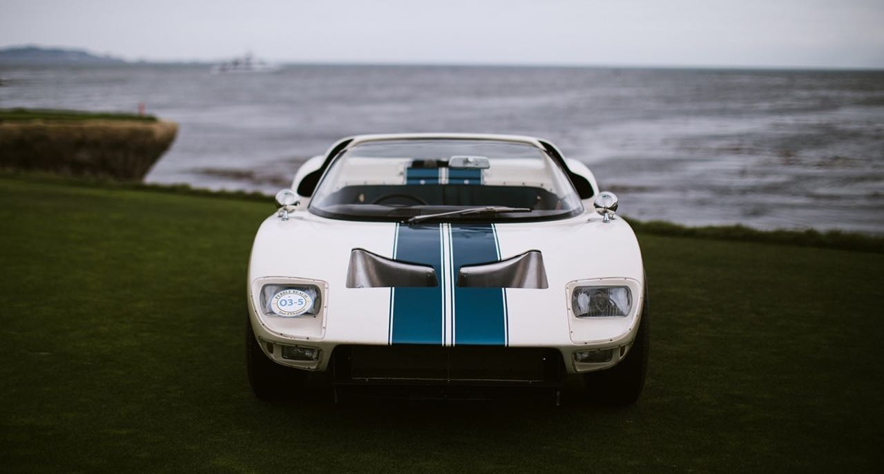 Ford GT40 Roadster... Cheveux au vent ! 28