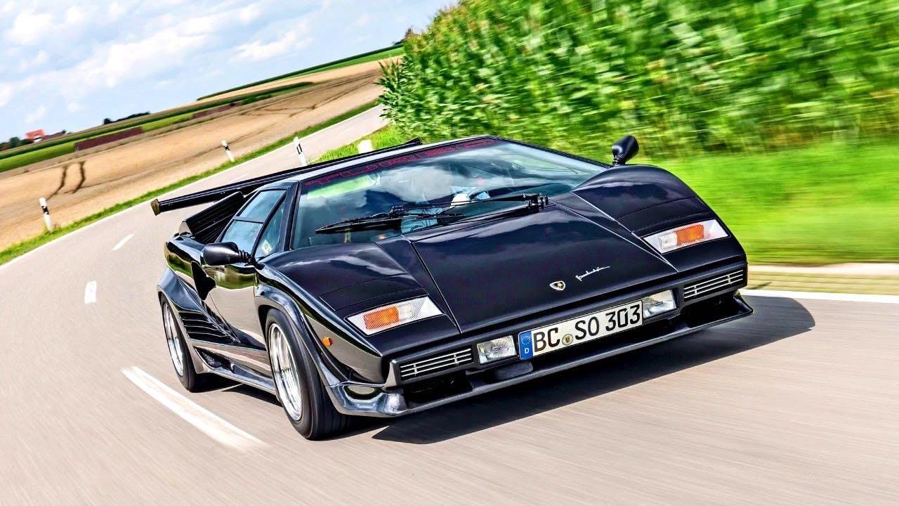 '80 Lamborghini Countach S Turbo... Une belle histoire ! 36