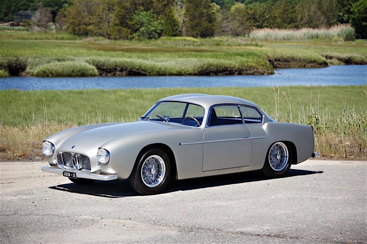 '56 Maserati A6G/54 Zagato... Deliziosamente sportivo ! 55