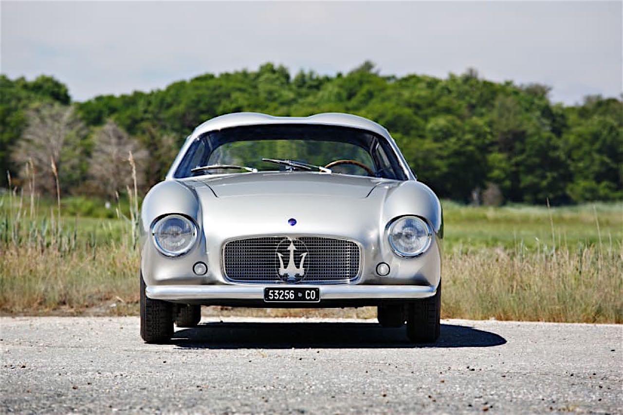 '56 Maserati A6G/54 Zagato... Deliziosamente sportivo ! 56