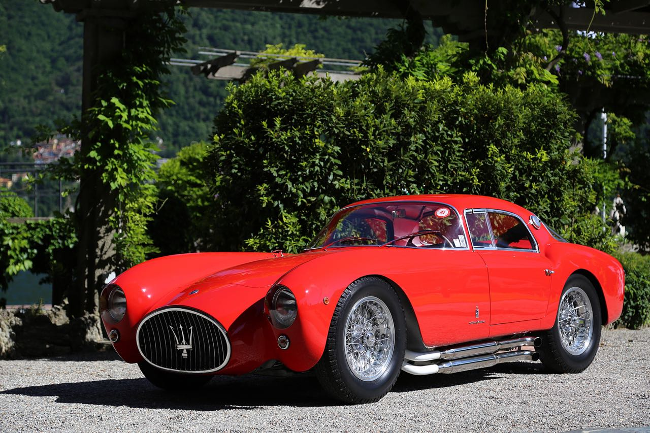 '53 Maserati A6GCS Berlinetta Pininfarina... Simple & belle ! 13
