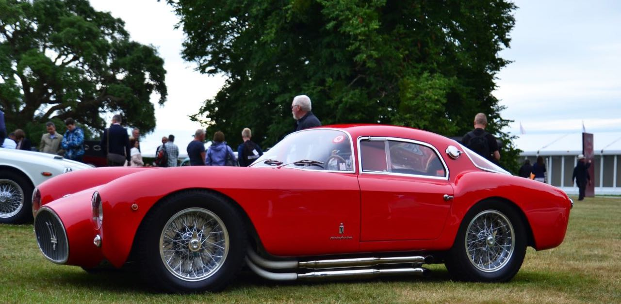 '53 Maserati A6GCS Berlinetta Pininfarina... Simple & belle ! 17
