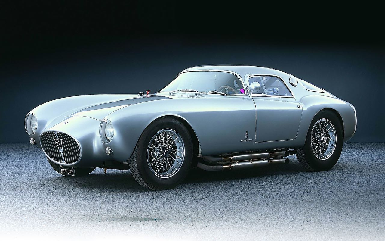 '53 Maserati A6GCS Berlinetta Pininfarina... Simple & belle ! 15