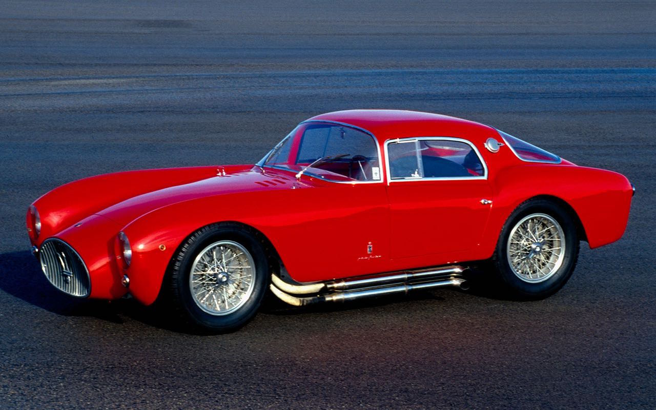 '53 Maserati A6GCS Berlinetta Pininfarina... Simple & belle ! 14