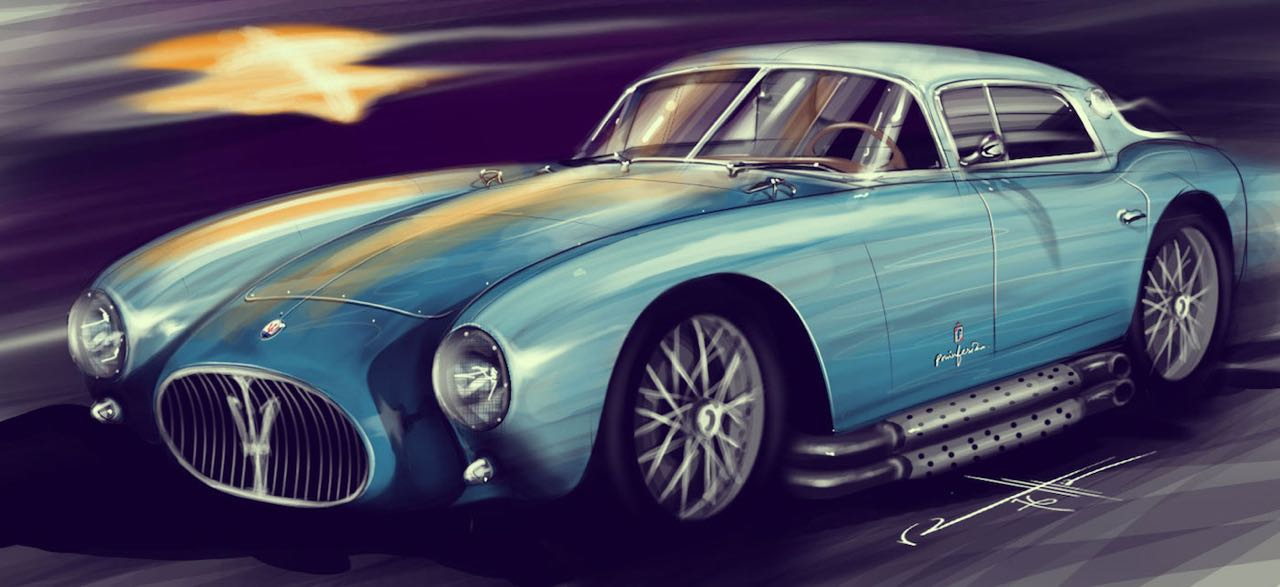 '53 Maserati A6GCS Berlinetta Pininfarina... Simple & belle ! 1