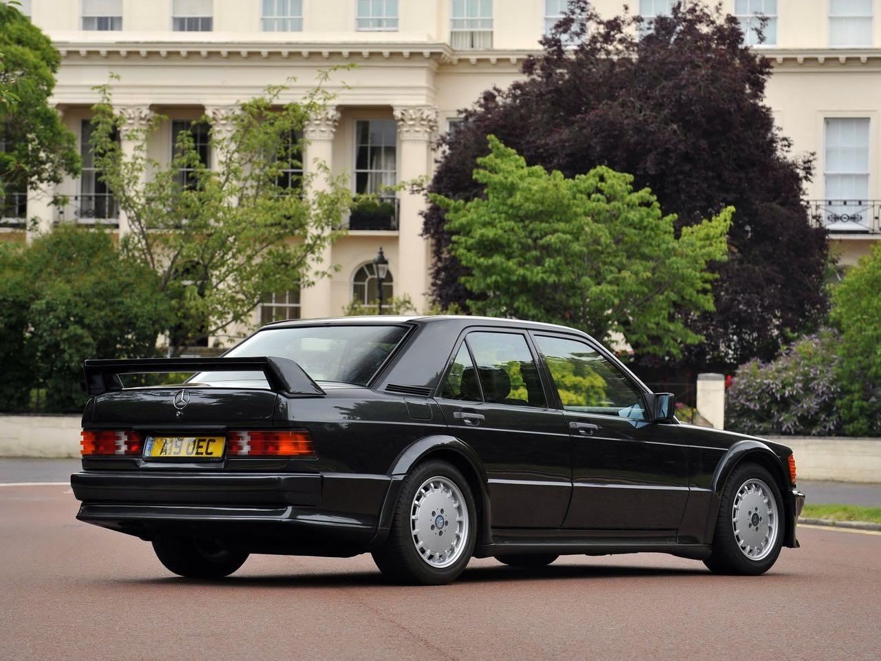 Mercedes 190 2.5 16 Evo 1... Oui il y a eu une Evo 1 ! 23