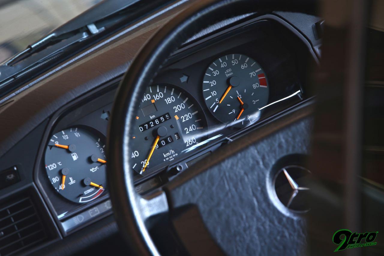Mercedes 190 2.5 16 Evo 1... Oui il y a eu une Evo 1 ! 30