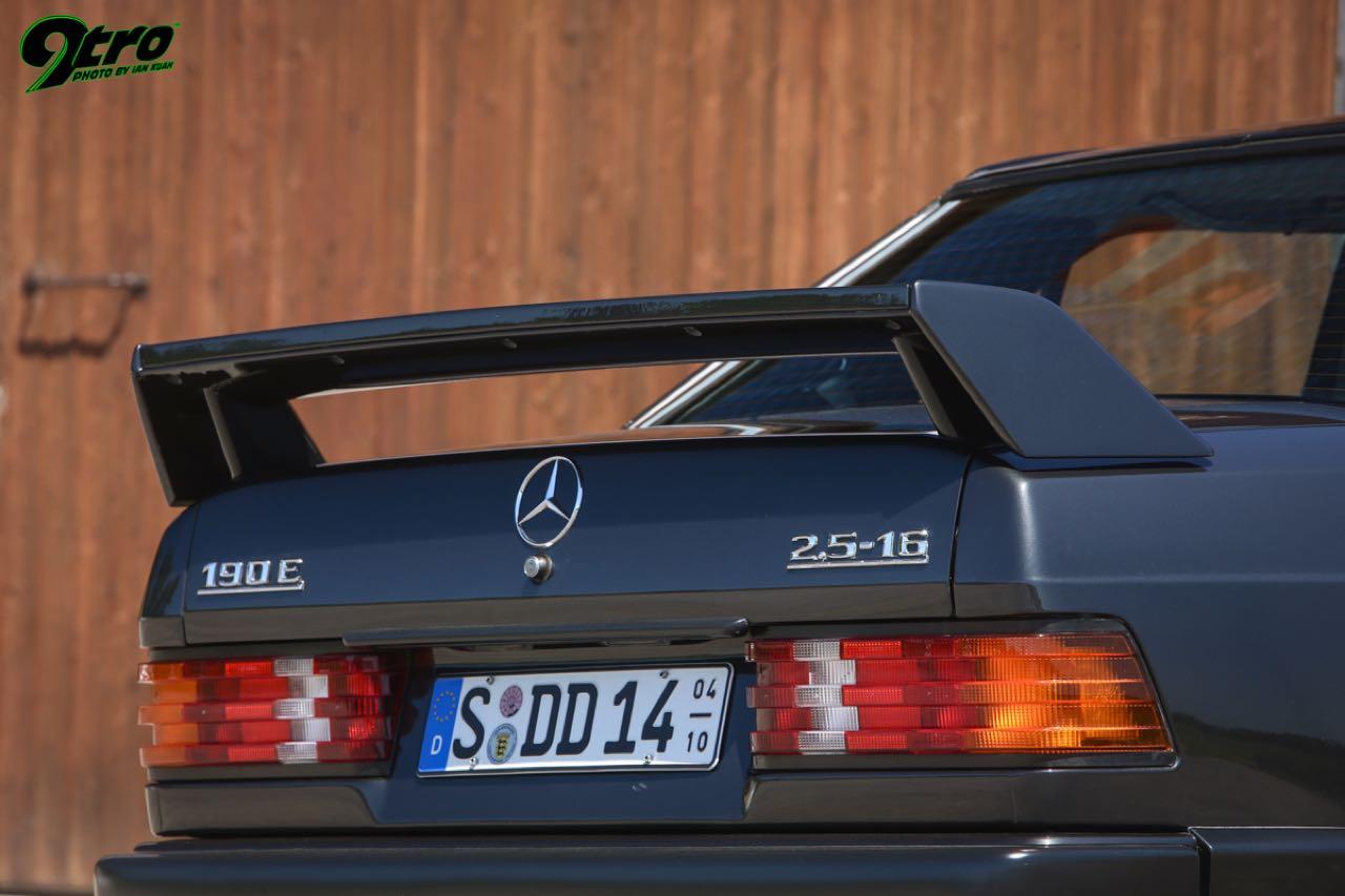 Mercedes 190 2.5 16 Evo 1... Oui il y a eu une Evo 1 ! 29