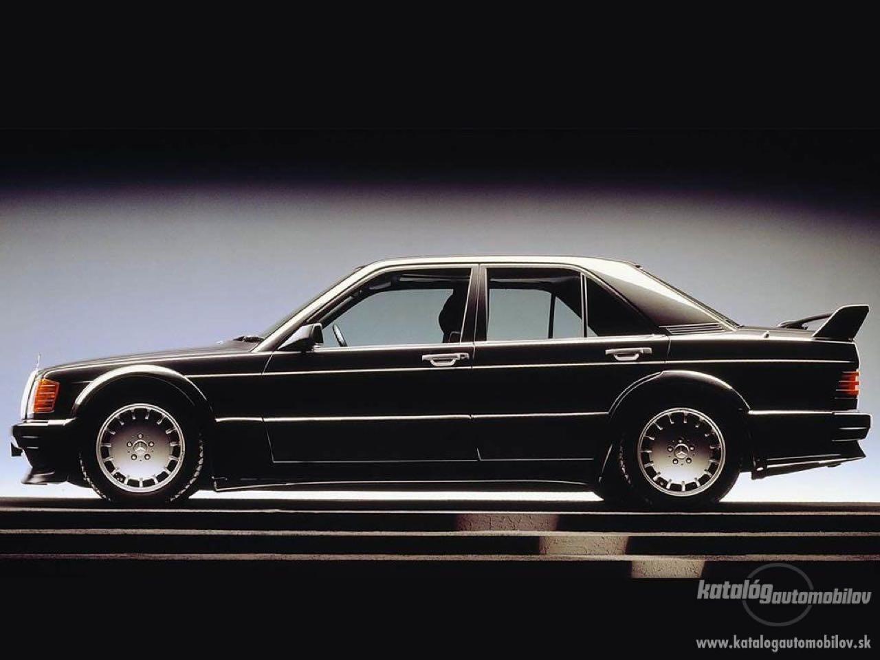 Mercedes 190 2.5 16 Evo 1... Oui il y a eu une Evo 1 ! 32