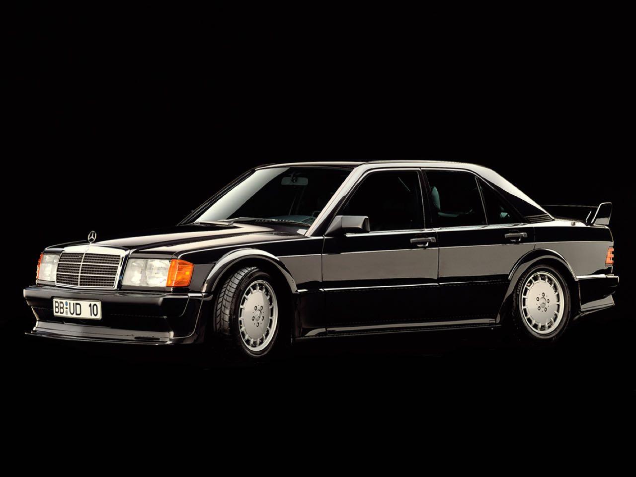 Mercedes 190 2.5 16 Evo 1... Oui il y a eu une Evo 1 ! 27