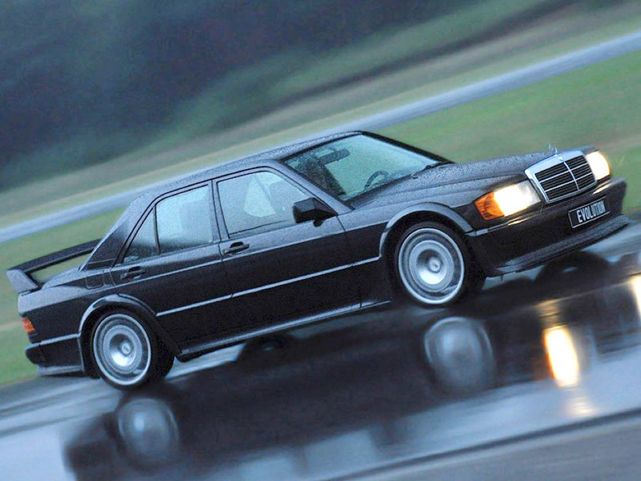 Mercedes 190 2.5 16 Evo 1... Oui il y a eu une Evo 1 ! 33
