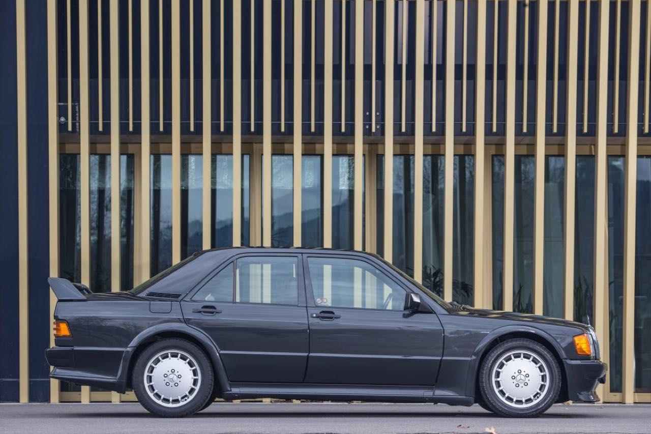 Mercedes 190 2.5 16 Evo 1... Oui il y a eu une Evo 1 ! 24