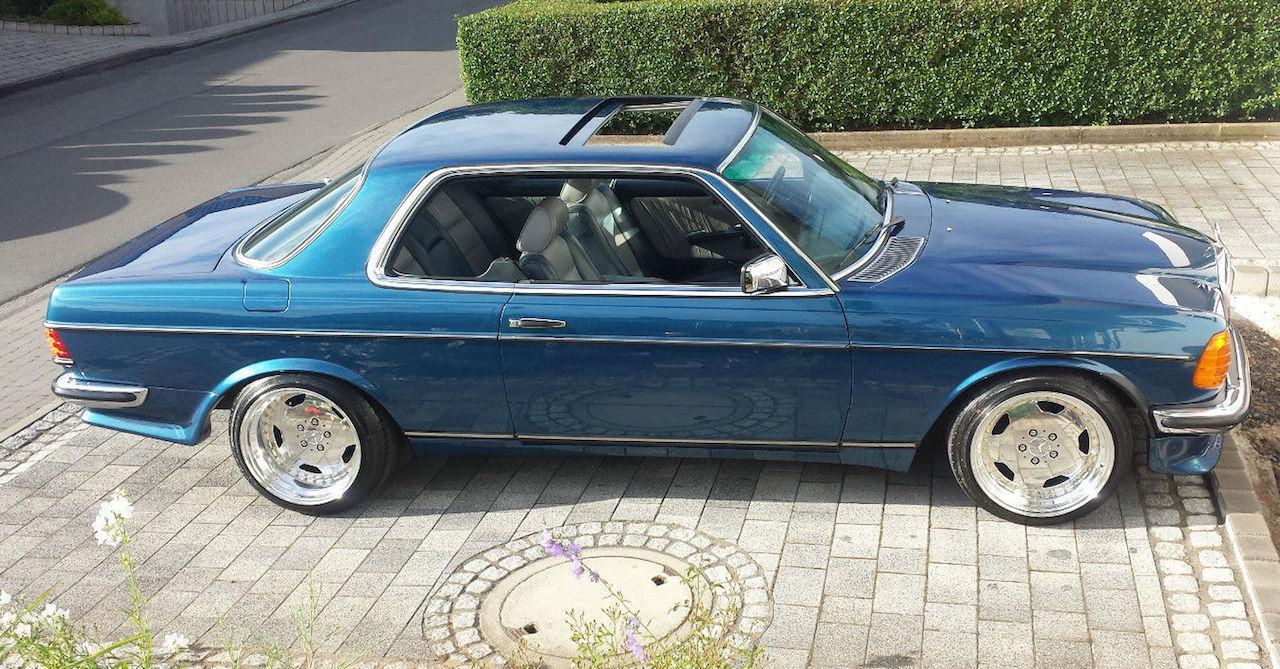 '79 Mercedes 500 TE AMG W123... Sexy lady ! 17