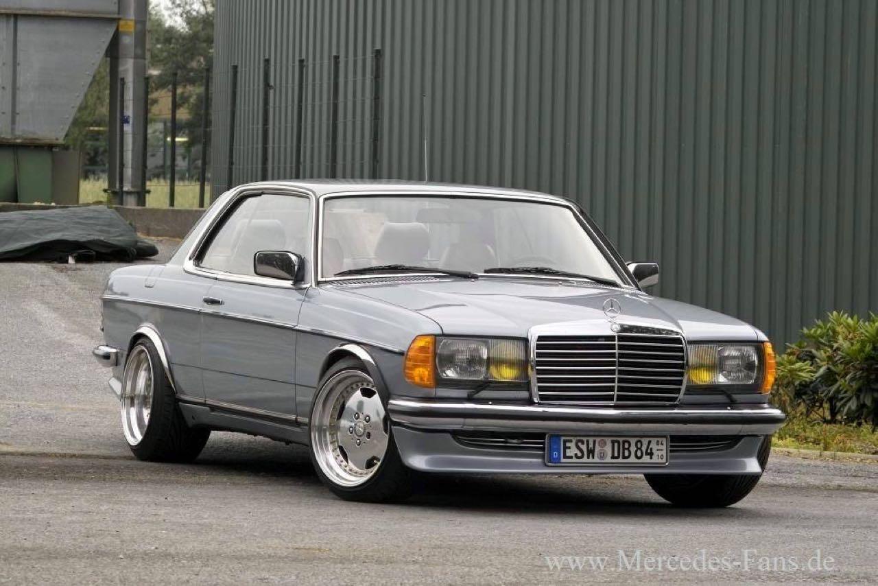 '79 Mercedes 500 TE AMG W123... Sexy lady ! 9