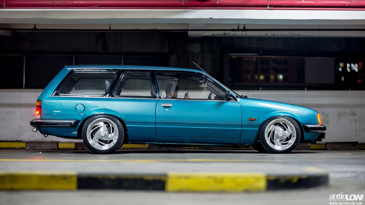 Static '80 Opel Rekord Caravan... C'est bon la choucroute ! 2