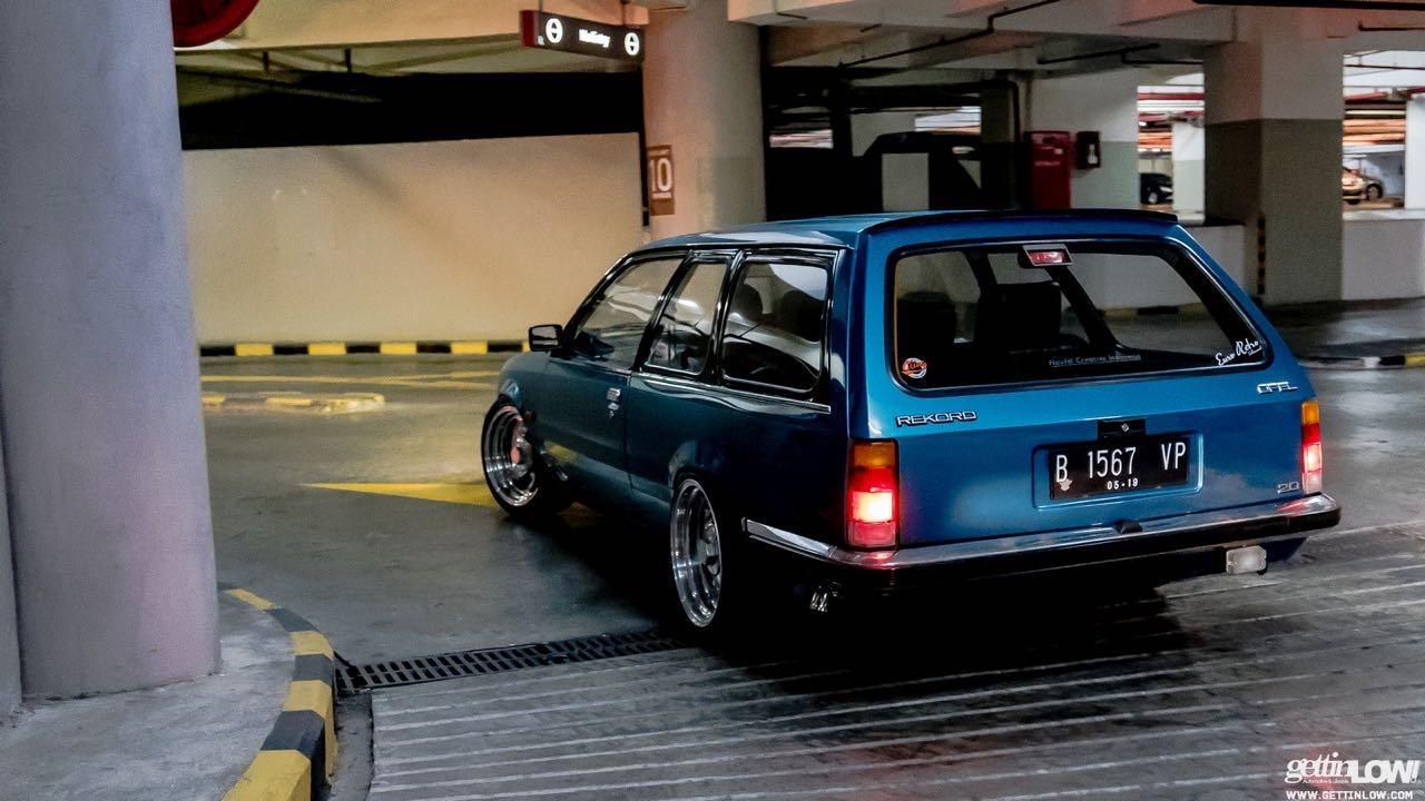 Static '80 Opel Rekord Caravan... C'est bon la choucroute ! 40
