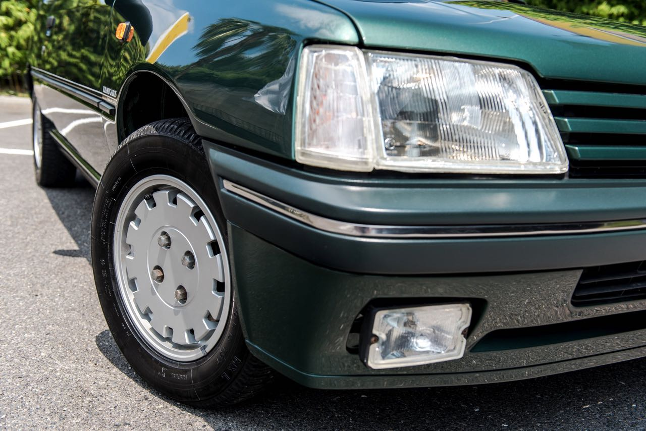 Peugeot 205 Cabriolet Roland Garros - Jeu, set et match ! 13