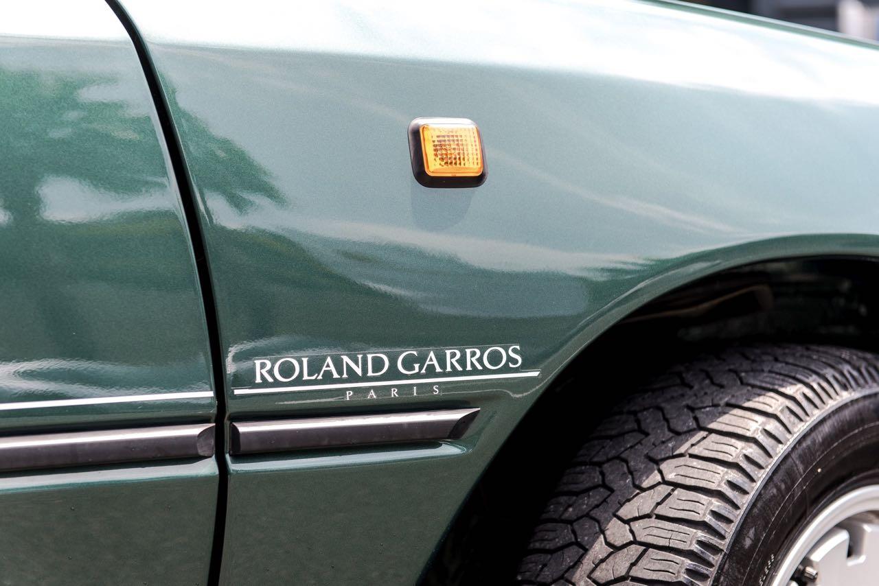 Peugeot 205 Cabriolet Roland Garros - Jeu, set et match ! 10