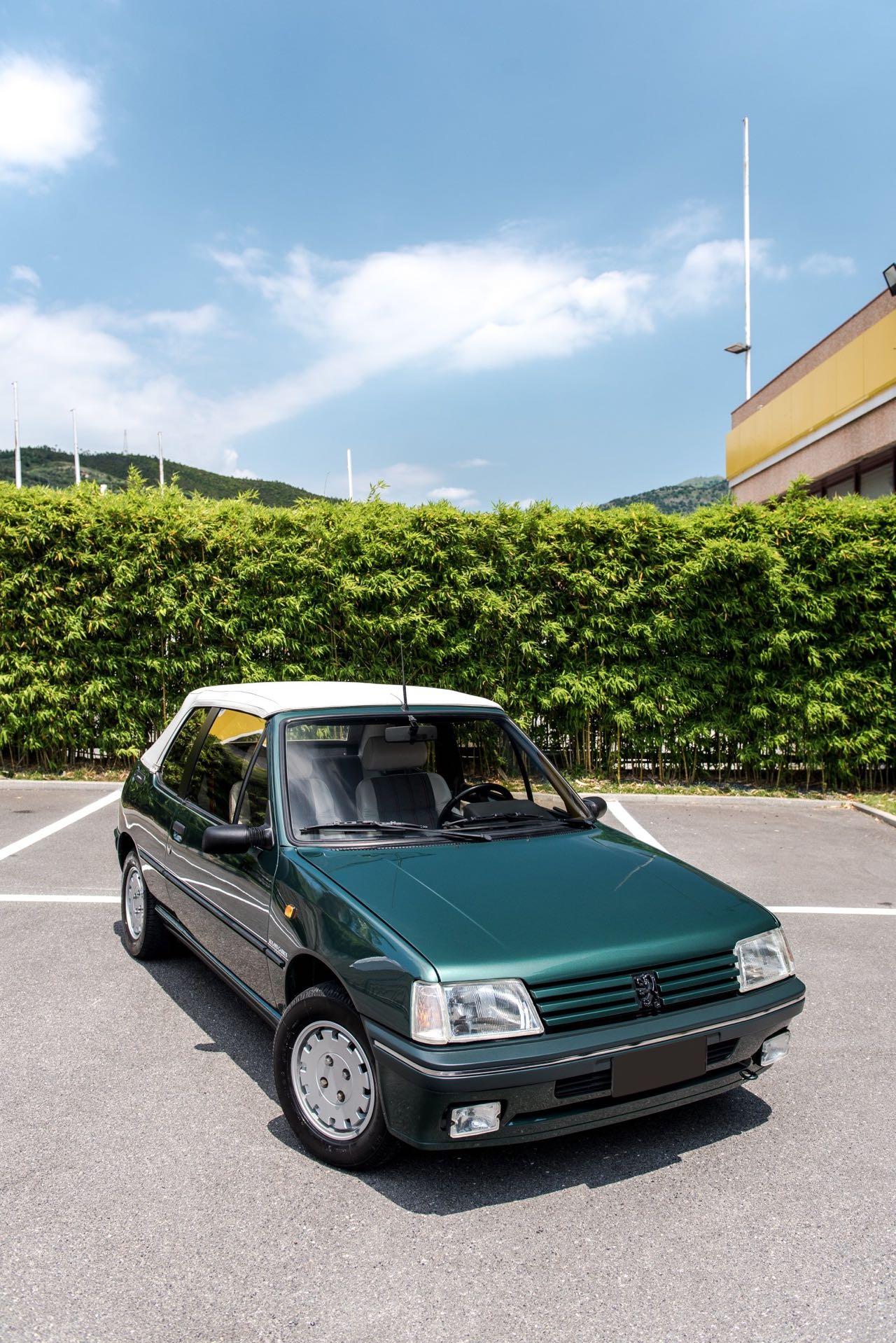 Peugeot 205 Cabriolet Roland Garros - Jeu, set et match ! 22