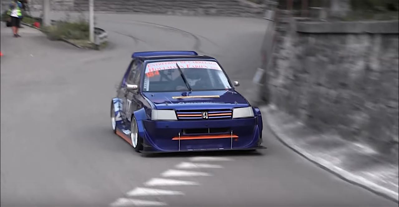 Engine sound : Peugeot 205 GTI en ITB... Viol auditif de 260 ch à 9000 trs ! 1