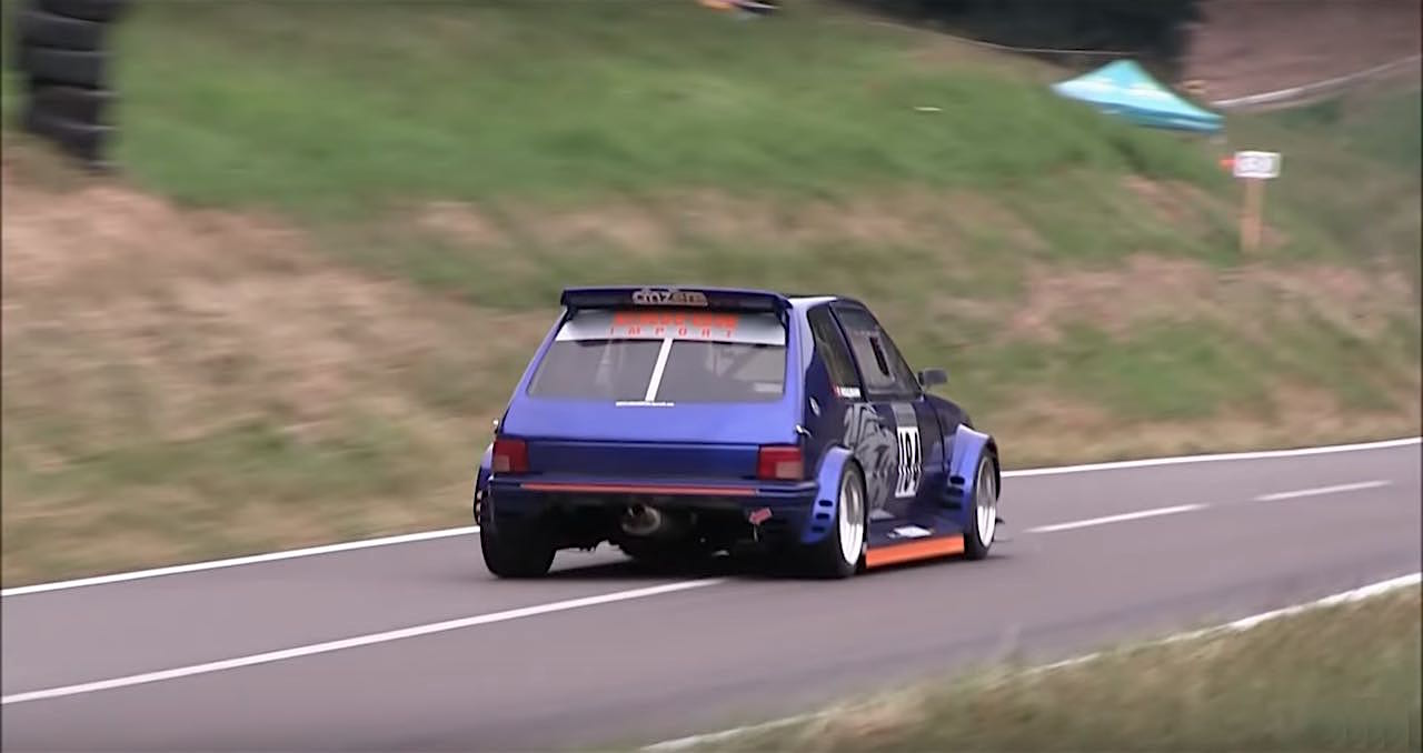 Engine sound : Peugeot 205 GTI en ITB... Viol auditif de 260 ch à 9000 trs ! 17